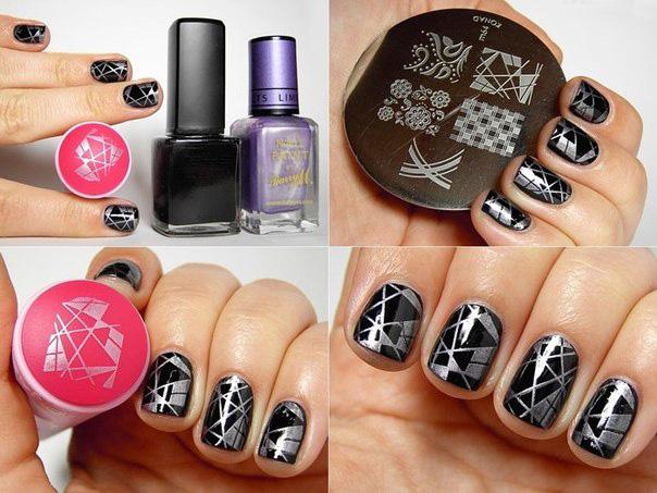 Дизайн ногтей стемпинг в Калуге